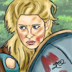 Lagertha by Zandoz