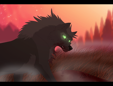 Lone Hunter by The-Ravens-Of-Moraea