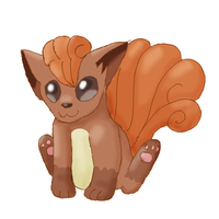 Vulpix - request by Insaneular