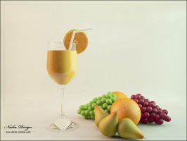 Fruit juice by Nadia-design