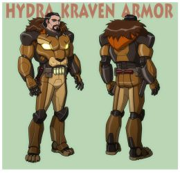USM: KRAVEN THE HUNTER in HYDRA ARMOR by Jerome-K-Moore