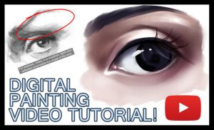 Tutorial - How to paint a semi-realistic eye by Sayuki-Art