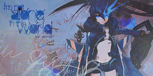 Black Rock Shooter signature by akinuy
