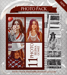 SELENA GOMEZ PHOTO PACK by Fuckthesch00l