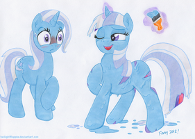 The Great and Powerful Paintbrush by TwilightFlopple