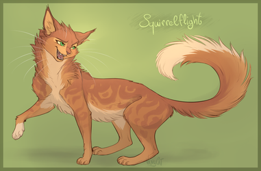Warrior Cats - Squirrelflight by VanyCat