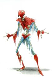 ZOMBIE SPIDERMAN by RM73