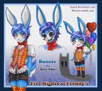 Bonnie the rabbit Uke-boy by Enock