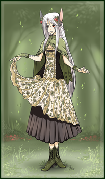 Fionn - Lady of the Forest by Majime