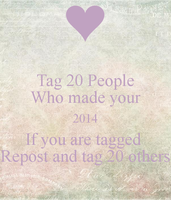 2014 Tag! by xBerrySilver