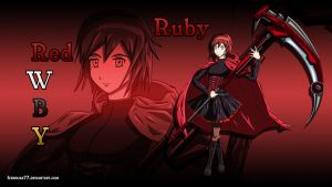 RWBY - Ruby Rose by IceNinjaX77