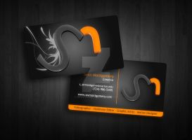 SM Designs - Business Card by smontgomery