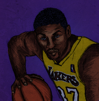 Ron Artest by eugeal
