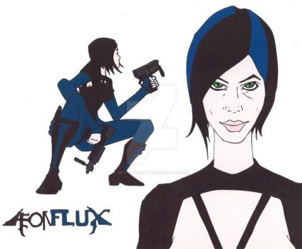 Aeon Flux by GnarlyNewty
