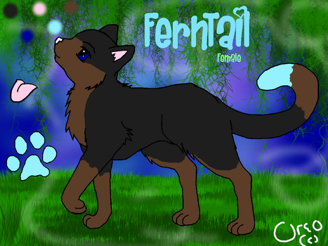Fern's Official Ref by OreoPelt