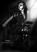 Deathly by babsartcreations