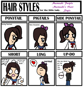 Hair Styles Meme- Marusaki by ribby2000