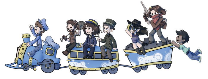 All aboard!!! by flopicas