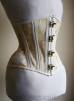 Vintage Map Corset with Swing Hooks by Trinitynavar