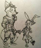 Zootopian Borderlands by Steampoweredfoxes