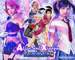 Alisa and Xiaoyu wallpaper by ladylucienne