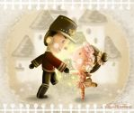 the story of tin soldier by papercaptain