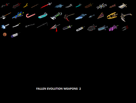 Fallen Evolution Weapons 2 by Fallen-Evolution