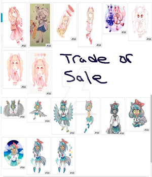 Selling / trading [Closed ] by DemonicLilith