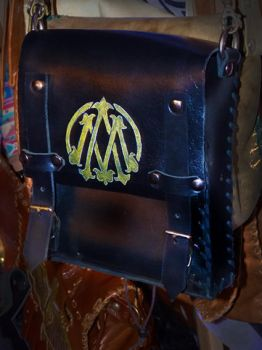 Ankh-Morpork post office leather bag by funkydpression