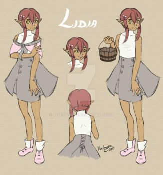 Lidia Reference by RiverTyna