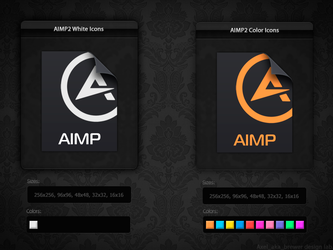 AIMP2 File Icons by aablab