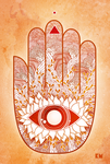 Hand of Fatima by kenazmedia