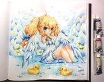 Ducky Girl for Bishakalaka by emperpep