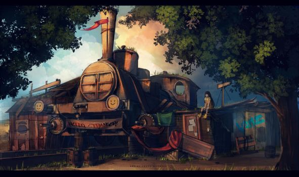 locomotive by sheer-madness