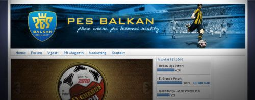 PES Balkan by Zile12
