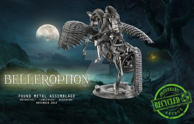 Bellerophon by ironheartram