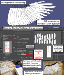 Crow Wing Blueprint - AI and PDF Download by Sunnybrook1