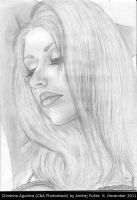 Christina Aguilera drawing 2 by AndRay-BF