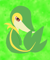 Unova Starter 495 - Snivy by AnimeFan4Eternity23