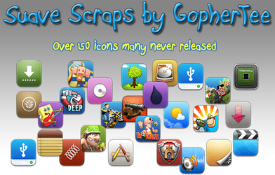 Suave Scraps Icon Pack by GopherTee