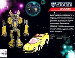 transformers: sunracer autobot by puticron