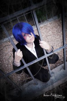 .:Vocaloid - KAITO:. Why did you CREATE me? by Manon-Blutsanguen