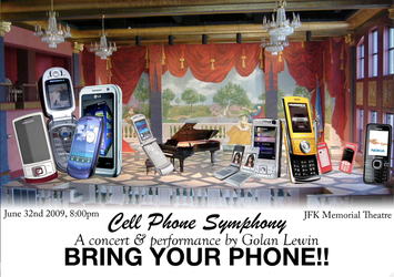 cell phone symphony pic by SnD-Frostey