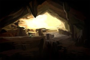 TWWM: Korei's Cave - The Threshold by kokodama