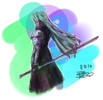 Sephiroth by beanzomatic