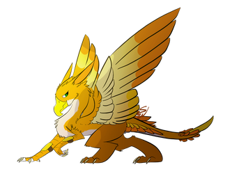 Antonio The Thunder Gryphon by Dragonsfriend90