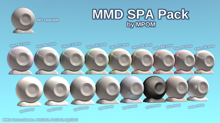 MMD Spa Pack 1 - DL by MagicalPouchOfMagic