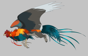 Rooster Griffon - Adopt Auction (CLOSED) by CoryKatze