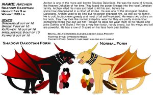 Archen Ref(updated) by Redwolfless