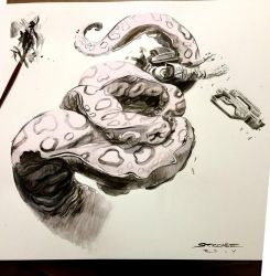 Inktober from last year by ChaseConley